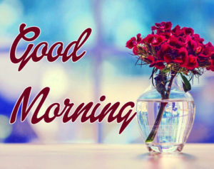 Happy Morning Images Pictures With Flower