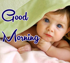 Wake Up Good Morning Images With Cute Baby Boy