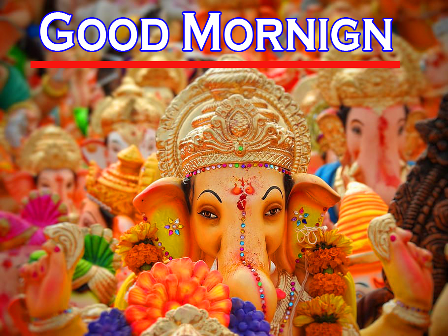 Ganesha Good Morning Images