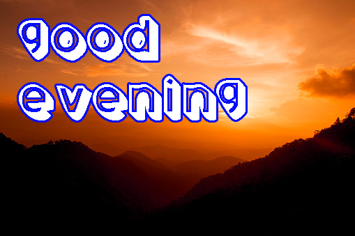 Good Evening Images Photo for Facebook