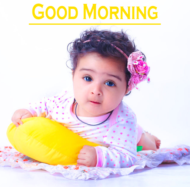 Cute Baby Good Morning Images