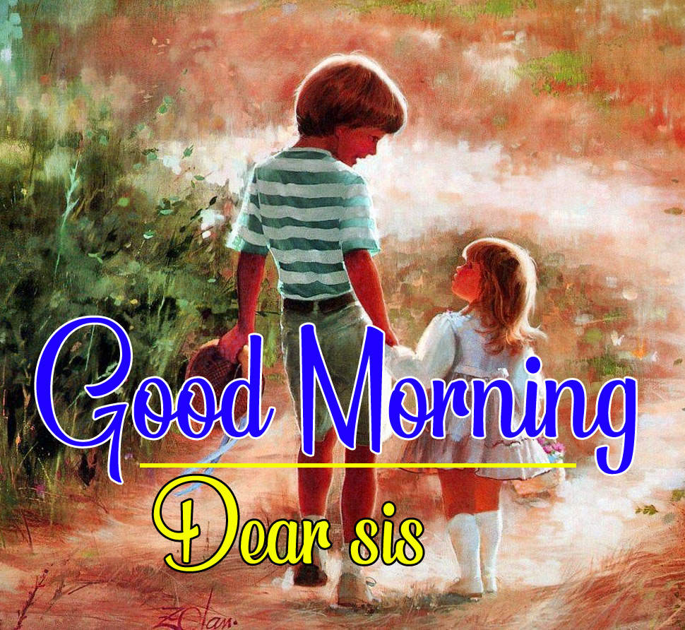 Good Morning Images For Brother and sister pics photo free hd