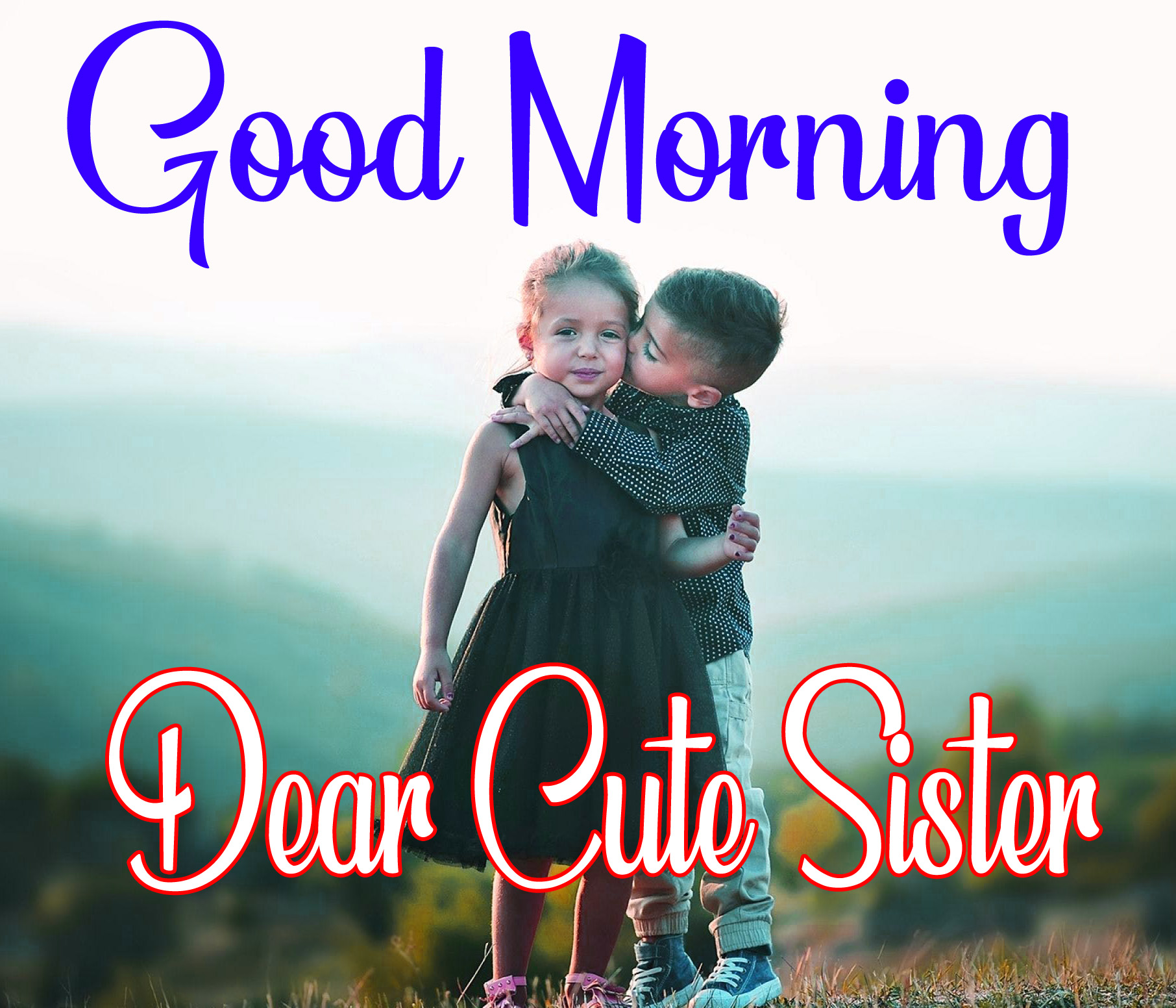 Good Morning Images For Brother and sister pictures free download
