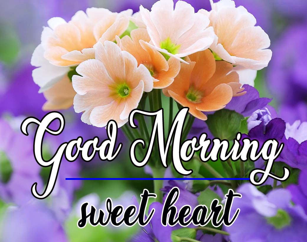 Good Morning Sweetheart Images With Flower