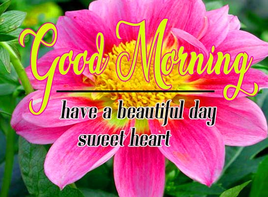 Good Morning Sweetheart Images for Whatsapp