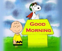 Snoopy Good Morning Images