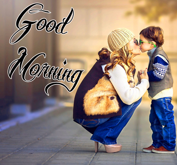 cute-baby-good-morning-kiss-picture