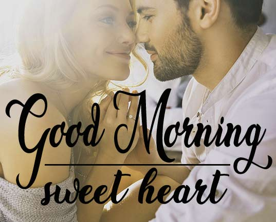 Good Morning Wishes Photo for Couple