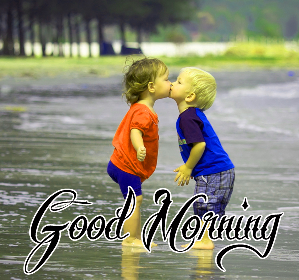 good-morning-kiss-picture-for-cute-baby-profile-hd