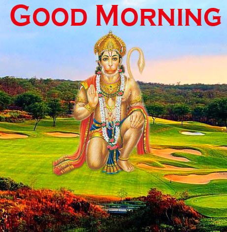 Hanuman Ji Good Morning Images Wallpaper In HD