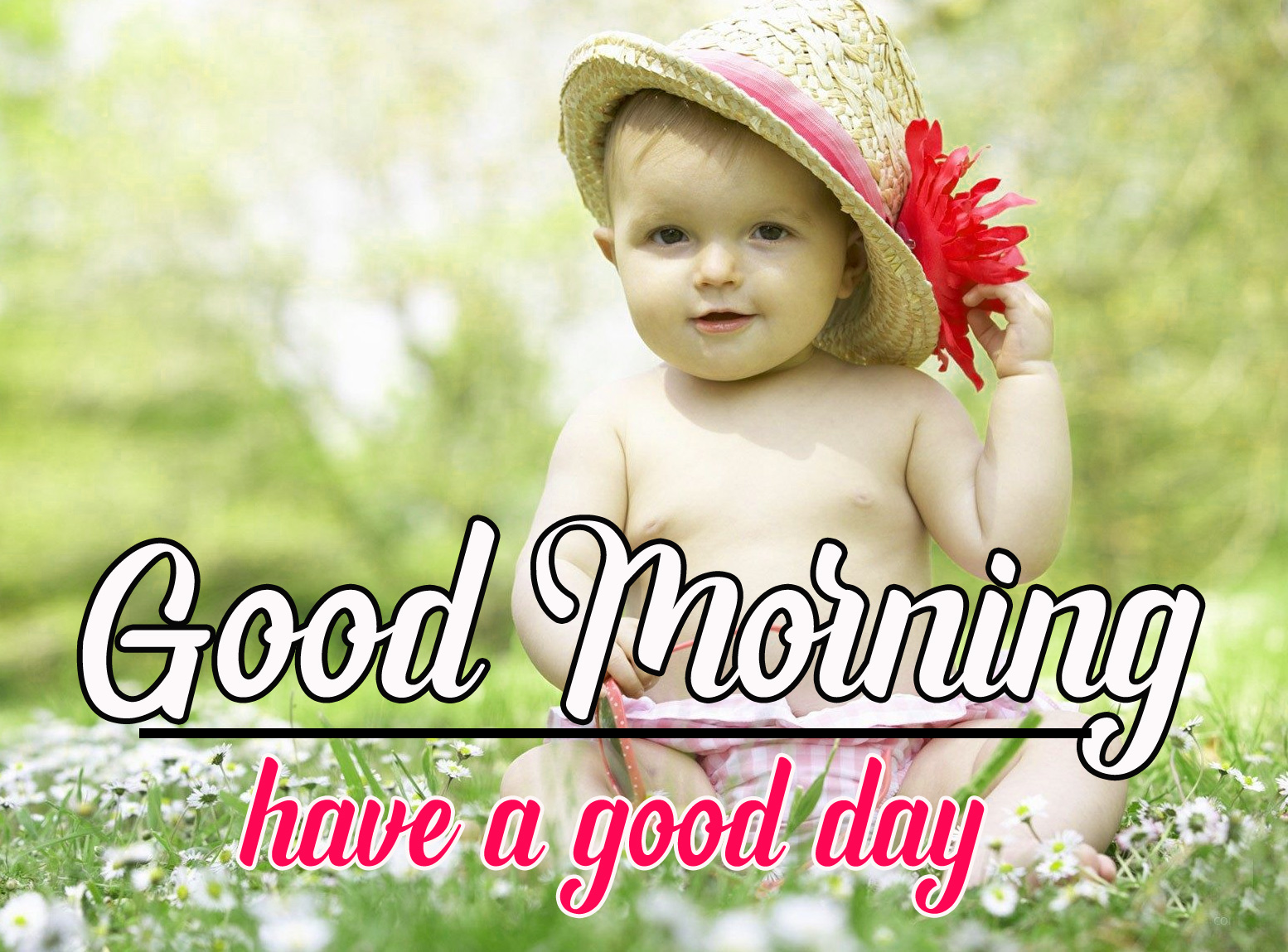 Beautiful Good Morning Images Photo Download With Cute Baby
