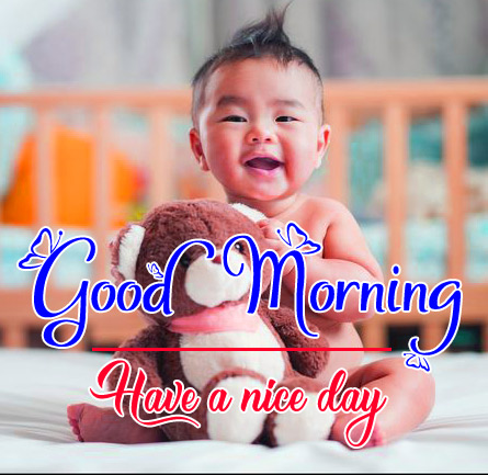 Best Good Morning Images Pics Wallpaper With Cute Baby