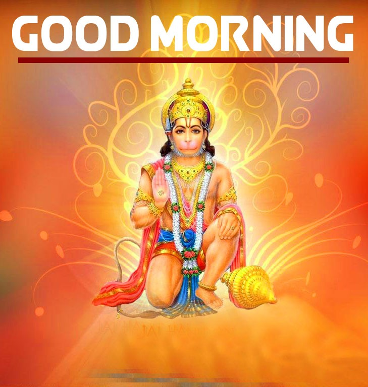Hanuman Ji Good Morning Images Wallpaper for Facebook