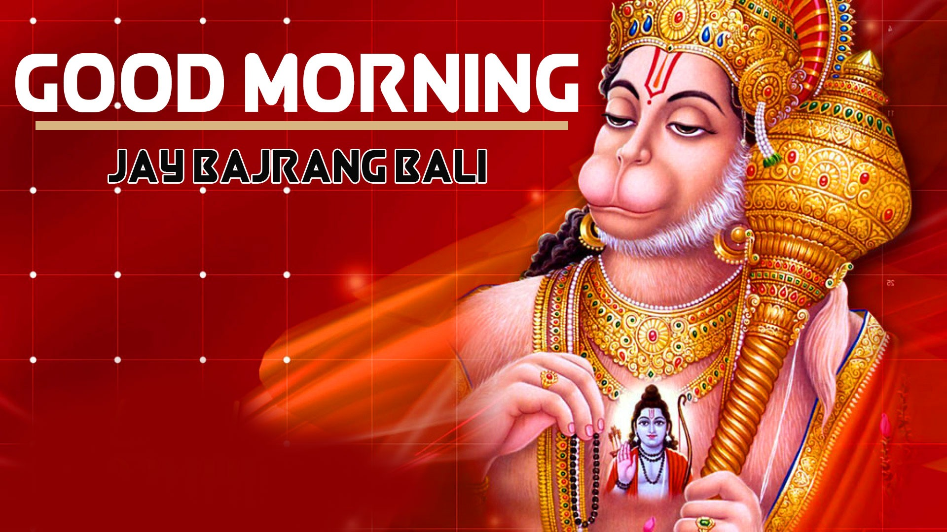 Hanuman Ji Good Morning Images Pics for Facebook