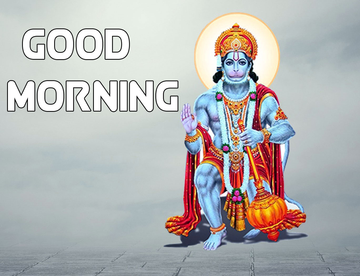 New Hanuman Ji Good Morning Images Pics Download for Friend