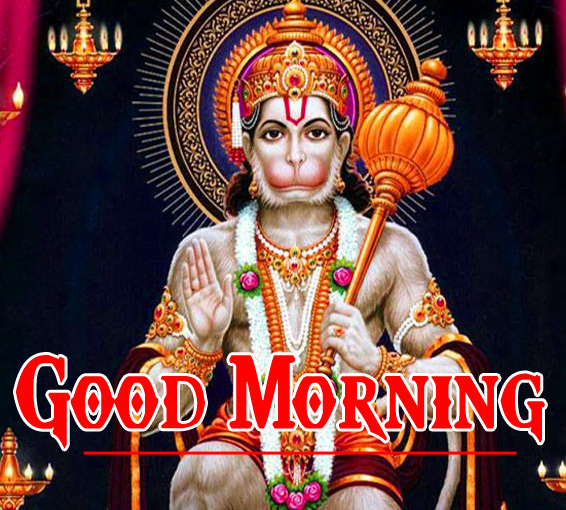 Mangalwar Good Morning Images With Hanuman Ji