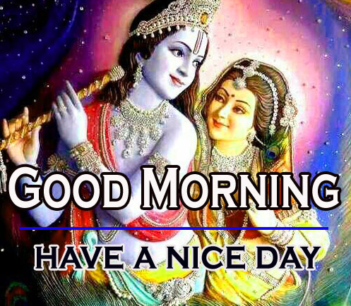 Radha Krishna Good Morning