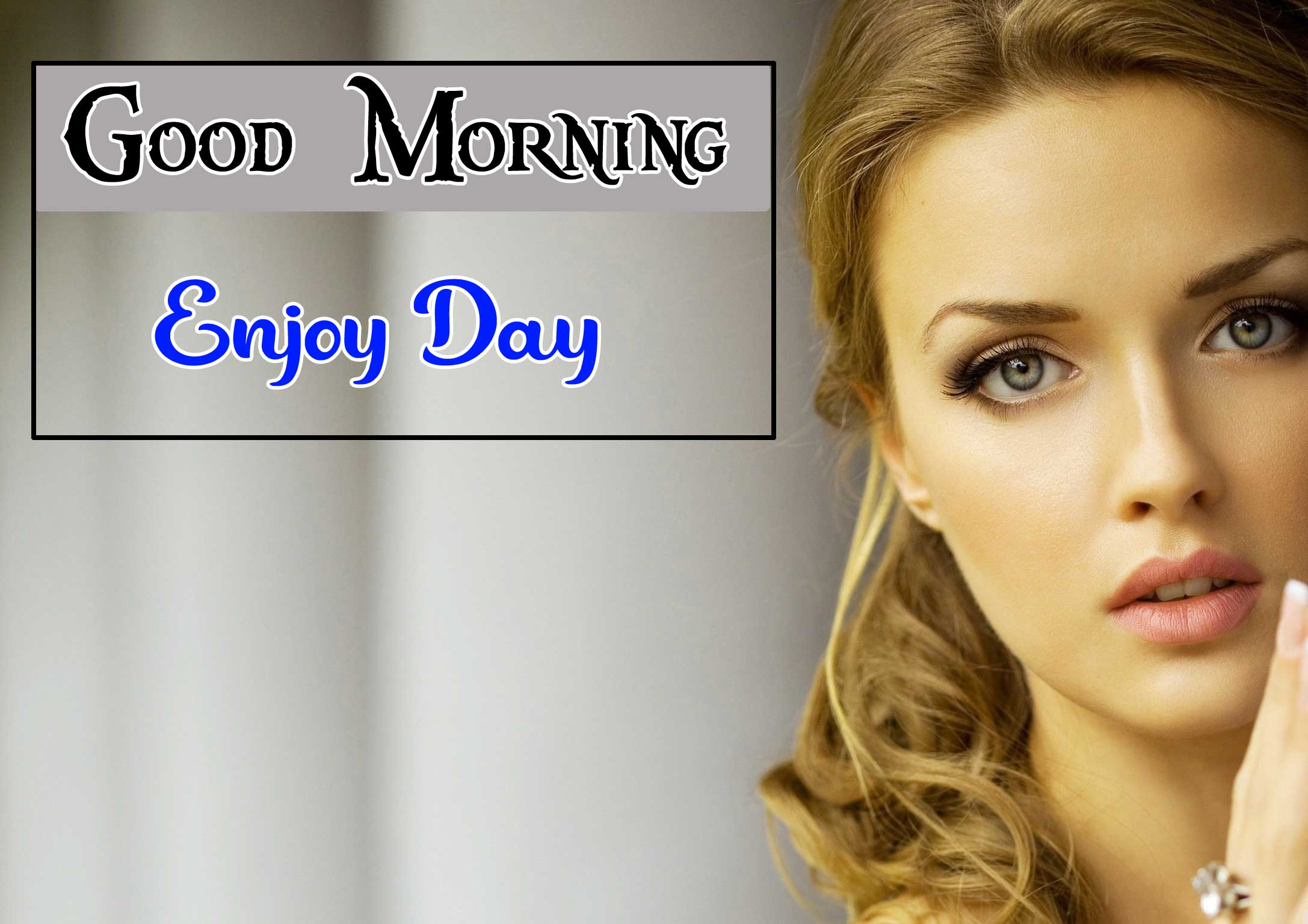 Good Morning images With Girls HD Download