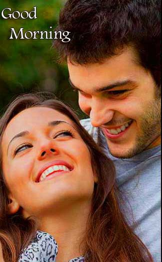Best Sweet Romantic Love Couple Good Morning Wishes Images Wallpaper Latest Download