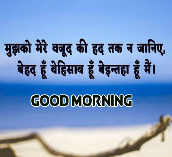 Best New Beautiful Line Hindi Suvichar Good Morning Images Photo Download