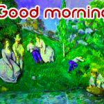 214+ Art Good Morning Images Photo HD Download