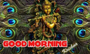 Good Morning Wishes Images Pics With God Radha Krishna