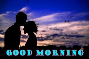 Romantic Good Morning Sweetheart Photo Wallpaper For Whatsapp