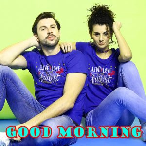 Romantic Good Morning Sweetheart Photo Wallpaper Download