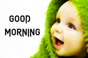 Cute Baby Good Morning Images wallpaper photo download