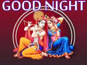 Radha Krishna Hindu God Religious good night images Photo Wallpaper Download