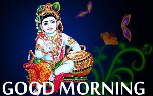 Bal Krishna Good Morning Images Photo Wallpaper Pics HD