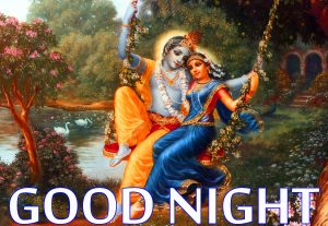 Radha Krishna Hindu God Religious good night images Wallpaper Pics Photo Free Download