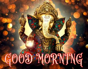 Hindi Quotes Ganesha Good morning Images Wallpaper Pictures Pics Download For Facebook