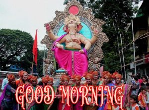 Hindi Quotes Ganesha Good morning Images Wallpaper Pictures Pics Download