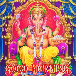 Hindi Quotes Ganesha Good morning Images Pictures Photo Download