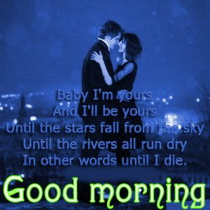 Sweet Romantic Good Morning Quotes For Him In Hindi Images HD Download