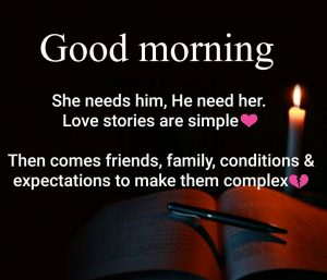 Hindi Quotes Him & Her Good Morning Images Wallpaper Pics Free Download