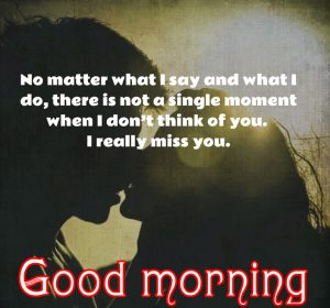 Sweet Romantic Good Morning Quotes For Him In Hindi Images Photo Download