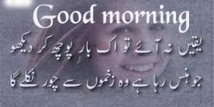 Urdu shayari Good Morning Images Wallpaper Pics Download
