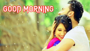 Romantic Couple Good Morning Image wallpaper pictures free download