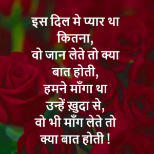 Romantic Hindi Shayari Images pictures photo hd download