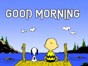 Snoopy Good Morning Images pictures photo hd download