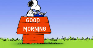 Snoopy Good Morning Images photo pics free hd