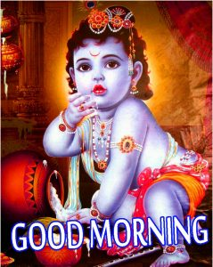 Bal Krishna Good Morning Images Photo Wallpaper Pics Download