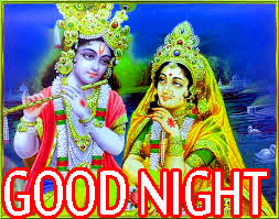Radha Krishna Hindu God Religious good night images Wallpaper Pics Download