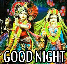Radha Krishna Hindu God Religious good night images Wallpaper Photo Download