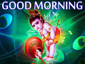 Bal Krishna Good Morning Images Pictures Photo Wallpaper Free Download