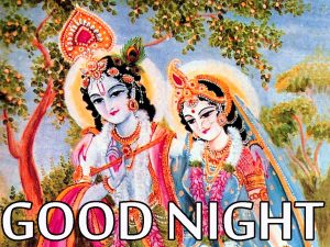 Radha Krishna Hindu God Religious good night images Photo Pictures Download