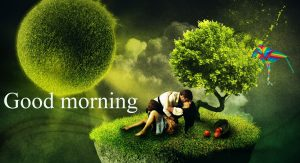 Gud Mrng Pic For Love Couple With Flower Nature Images Wallpaper Pics Pictures HD
