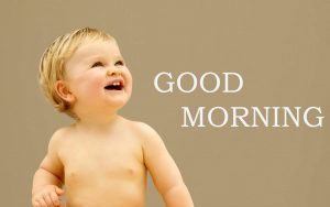 Sweet Cute Child kid good morning images HD